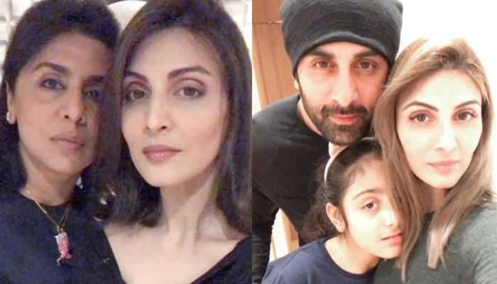Neetu Kapoor's Birthday Party Saw Ranbir Kapoor, Riddhima Kapoor With Karan Johar [Pics Inside]