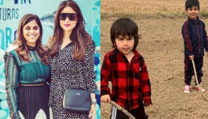 Kareena Kapoor Khan And Her BFF Reena's Friendship Legacy Is Continued By Taimur Ali Khan And Ranvir