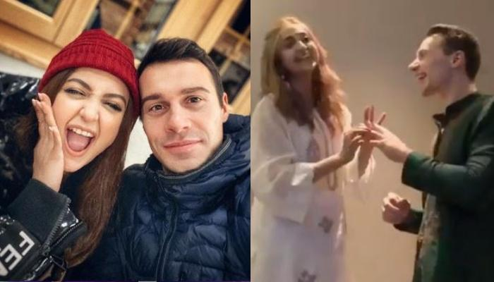 Monali Thakur And Hubby, Maik Richter In Their Wedding Video Are Looking Like Kids Going For A Play