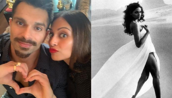 Bipasha Basu's Social Media Banter With Hubby, Karan Singh Grover On Her Throwback Beachside Picture