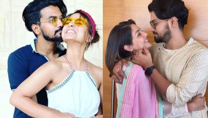 Hina Khan's Beau, Rocky Jaiswal Shares A Throwback Video Of His Girlfriend's Nail Chipping Diaries