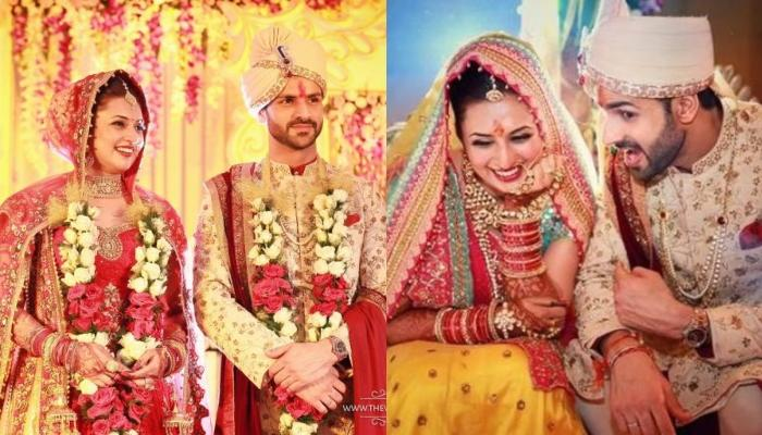 Divyanka Tripathi Dahiya Shares An Unseen Picture From Her Wedding To Celebrate 4 Years Of Marriage