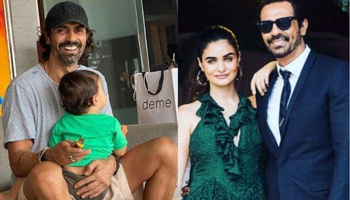 Arjun Rampal Takes GF, Gabriella Demetriades And Son, Arik Rampal For An Outing Amid The Pandemic