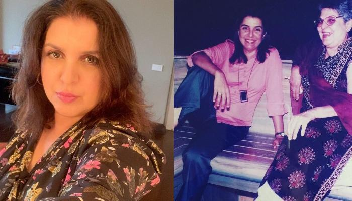 Farah Khan Shares An Unseen Picture With Her Mother From Her Mehendi Ceremony