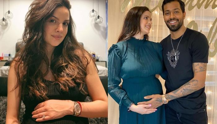 Natasa Stankovic Flaunts Her Baby Bump In A Yellow Floral Dress, Shares 'Happiness Is On Its Way'