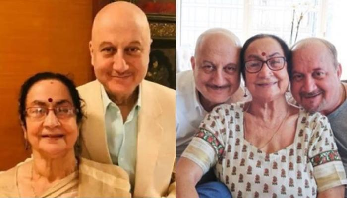 Anupam Kher's Mother, Dulari Has Been Shifted To Isolation Ward After Testing Positive For COVID-19