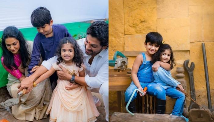 This Is How Allu Arjun's Kids, Arha And Ayaan Are Preparing For The Monsoon [Pictures Inside]