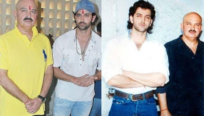 Hrithik Roshan And His Dad, Rakesh Roshan Share An Uncanny Resemblance In This Collage