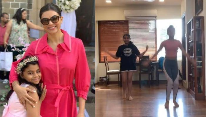 Sushmita Sen Records And Shares Her Daughter, Alisah And Her BFF, Alexa's Beautiful Dance Cover
