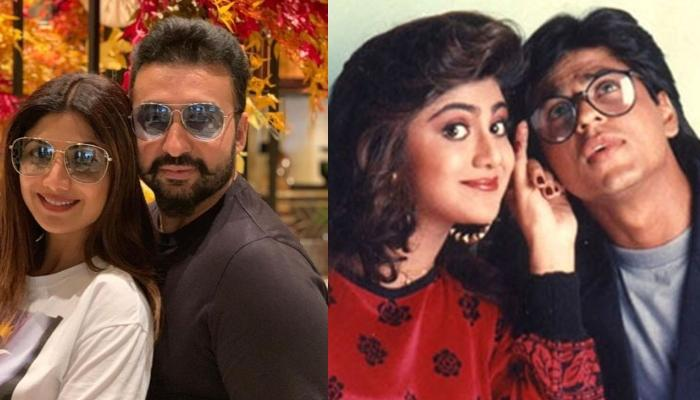 Raj Kundra Trolling Wife Shilpa Shetty's 'Baazigar' Hairstyle With Hilarious Meme Will Make You ROFL