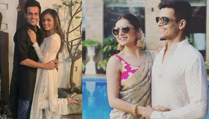 Drashti Dhami And Hubby, Niraj Khemka Look Like A Match-Made-In-Heaven In This Traditional Avatar