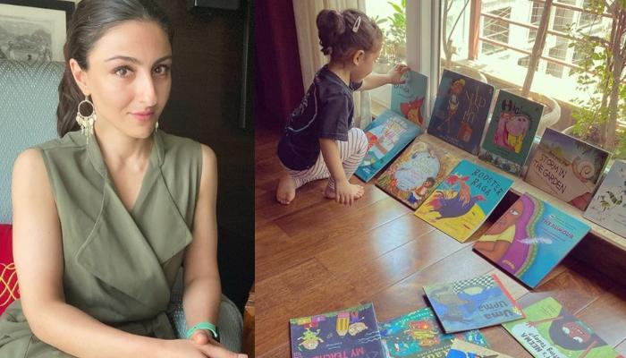 Soha Ali Khan Reveals How Daughter, Inaaya Naumi Kemmu Loves Grooving To The Zumba Sessions