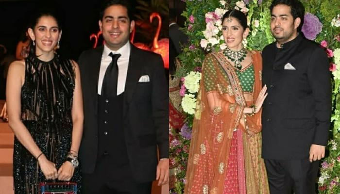 Akash Ambani And Shloka Mehta Look Adorable As They Attend First Virtual Reliance General Meeting