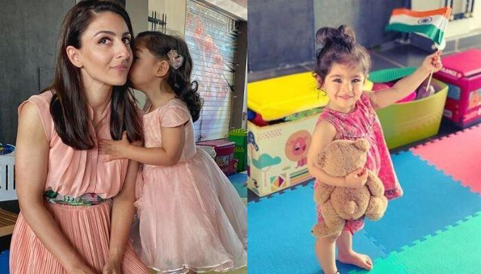Soha Ali Khan's Daughter, Inaaya Naumi Kemmu Is On A Mission To Clean The World, Arranges The Pieces