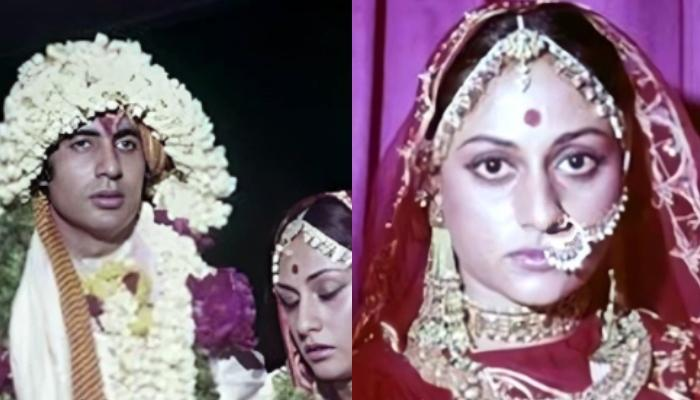 Unseen Throwback Pictures Of Amitabh Bachchan And Jaya Bachchan's 'Chat Mangni, Pat Vyaah' In 1973