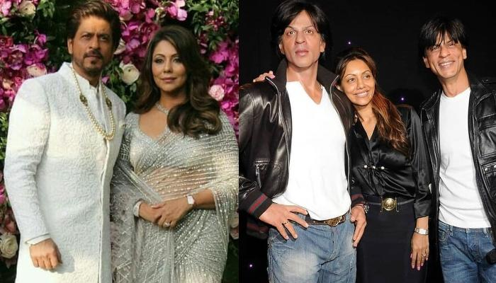 Gauri Khan Is Stuck Between Two Shah Rukh Khans, The Actor Has A Hilarious Reply To It