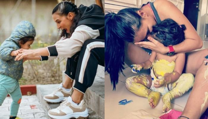 Neha Dhupia Reveals How Keeping Baby Mehr At Home Is A Challenge And What Motherhood Has Taught Her