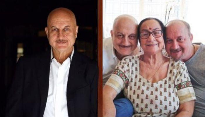Anupam Kher Shares An Update About His Mother, Dulari And Brother, Raju's Battle Against COVID-19