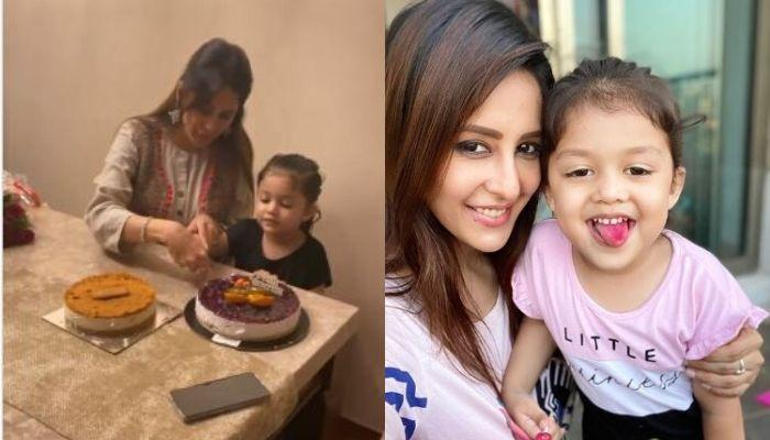 Chahatt Khanna's Daughter, Zoharr Buys Birthday Gift And Sings Birthday Song For Her Mommy Dearest