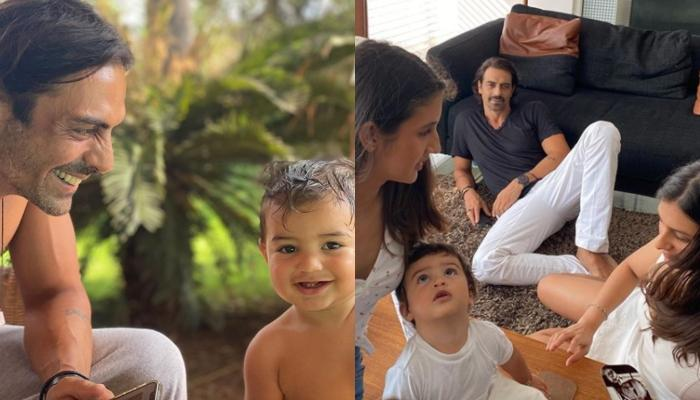 Arjun Rampal And Gabriella Demetriades Finally Share First Photos Of Arik Rampal On His 1st Birthday