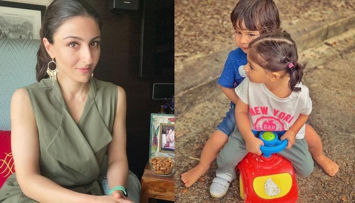 Soha Ali Khan Reveals That Her Daughter, Inaaya Tries To Copy Her 'Bhai' Taimur Ali Khan