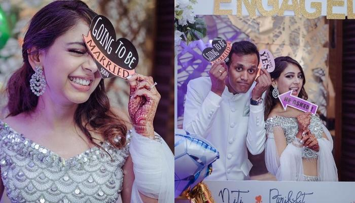 Unseen Pictures Of Niti Taylor And Parikshit's Engagement Ceremony Is Cute, Goofy And All About Love