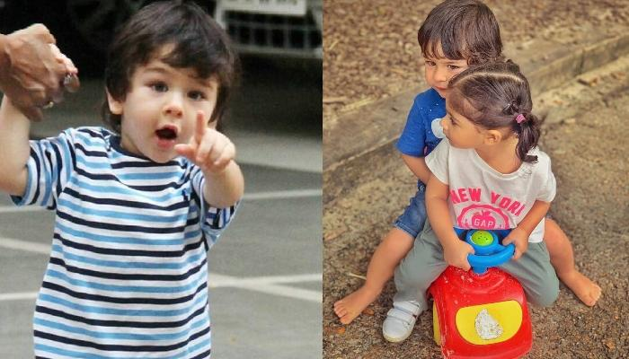 Taimur Ali Khan And Inaaya Naumi Kemmu Get Papped Wearing Masks As They Step Out In The City