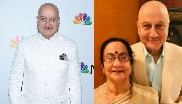 Anupam Kher's Mother, Dulari And Family Will Be Quarantining At Home Now, Shares A Video Update