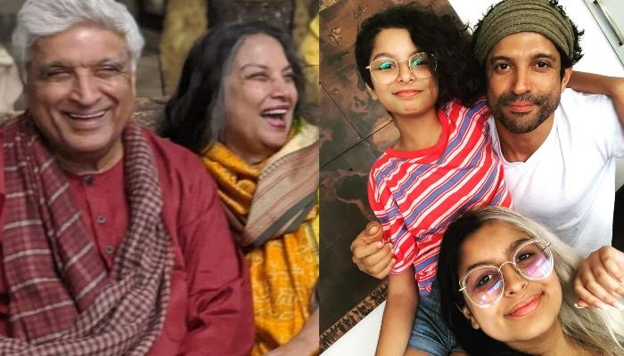 Shabana Azmi Reveals That Javed Akhtar Is Happiest When He Is With His Granddaughters