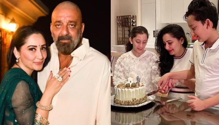 Sanjay Dutt Reveals What He Calls Wife, Maanayata Dutt In His Wish For Her On 42nd Birthday [VIDEO]