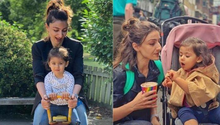 Soha Ali Khan Shares Daughter, Inaaya's Lockdown Routine, Says She Has To Hide To Eat Chocolates