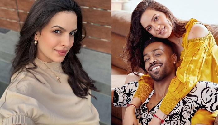 Natasa Stankovic Shares A Romantic Picture With Hubby, Hardik Pandya, Flaunts Her Baby Bump