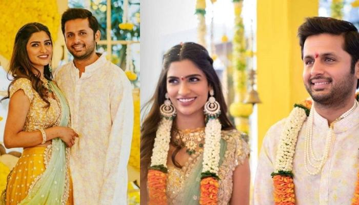Telugu Actor Nithiin Gets Engaged To Fiancee Shalini Kandukuri In An Intimate Ceremony Amid COVID-19