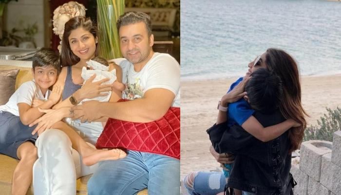 Shilpa Shetty's Son, Viaan Raj Kundra Captures A 'Priceless' Moment Of His Mommy Enjoying Sunset