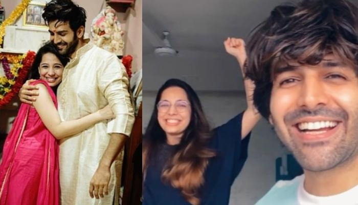 Kartik Aaryan's Sister Kritika Interrupts His Discussion On Mental Health, Their Banter Is Too Funny
