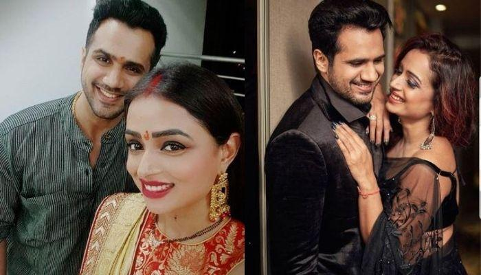 Parul Chauhan Of 'Bidaai' Fame Shares Happy Unseen Wedding Pictures With Hubby, Cherag Thakkar