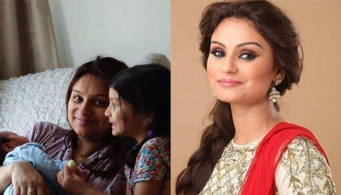 Dimpy Ganguly Shows 'Sibling Love' Of Her 4-Year-Old Daughter, Reanna And 3-Month-Old Son, Aryaan