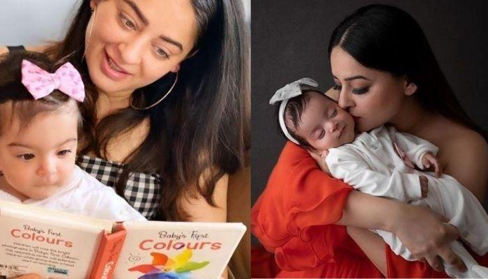 Mahhi Vij Starts Countdown For The First Birthday Of Daughter, Tara, With A Twinning-In-White Photo