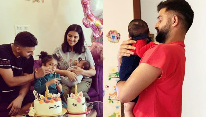 Suresh Raina Playing With Son Rio Is All About Father-Son Goals, Shares A Glimpse Of Their 'Us' Time