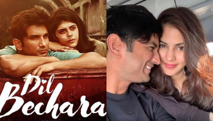 Rhea Chakraborty Pens A Note For 'Hero Of Her Life' Sushant Singh Rajput On Release Of 'Dil Bechara'
