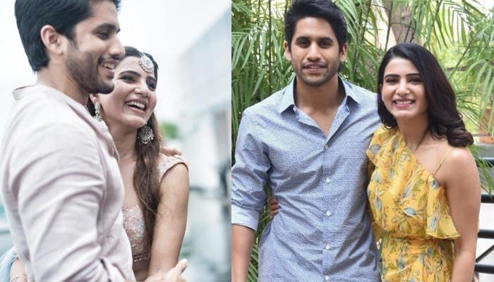 Naga Chaitanya Cheering For Samantha Akkineni During An Arm Wrestling Match Is Pure Couple Goals