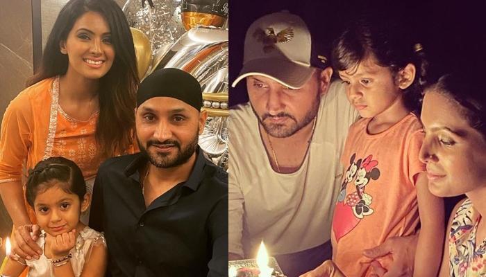 Harbhajan Singh's Daughter, Hinaya Cuts Her Unique Frozen-Themed Birthday Cake