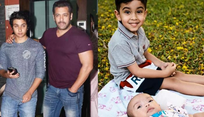 Salman Khan Shares A Droolworthy Picture With Ahil, Nirvan And Ayat And It Just Melted Our Hearts