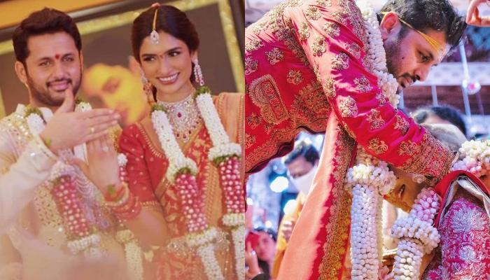 Telugu Star Nithiin Reddy Ties The Knot With Fiancee Shalini Kandukuri, Inside Pictures From Wedding