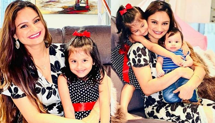 Dimpy Ganguly's Endearing Moments With Little Ones, Reanna Roy And Aryaan Roy Will Leave You In Awe!