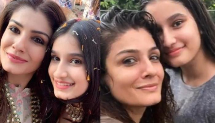 Raveena Tandon's 'Tip Tip Barsa Paani' Mode With Daughter, Rasha Thadani Sets Major Nostalgia