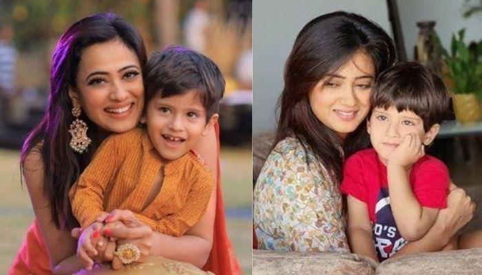 Shweta Tiwari Shares A Throwback Picture, Kissing Her Son, Reyansh, Calls Herself 'Half Warrior'