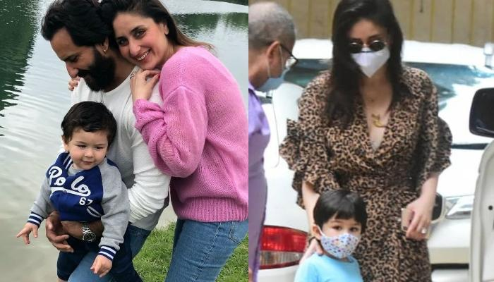 Kareena Kapoor Khan And Taimur Ali Khan Give Out Fashion Goals In Their Latest Outing