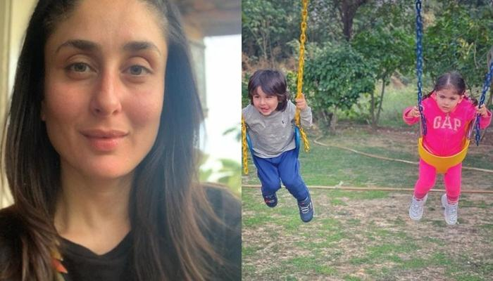 Kareena Kapoor Shares An Adorable Monochrome Picture Of Taimur And Inaaya And We Can't Stop Gushing
