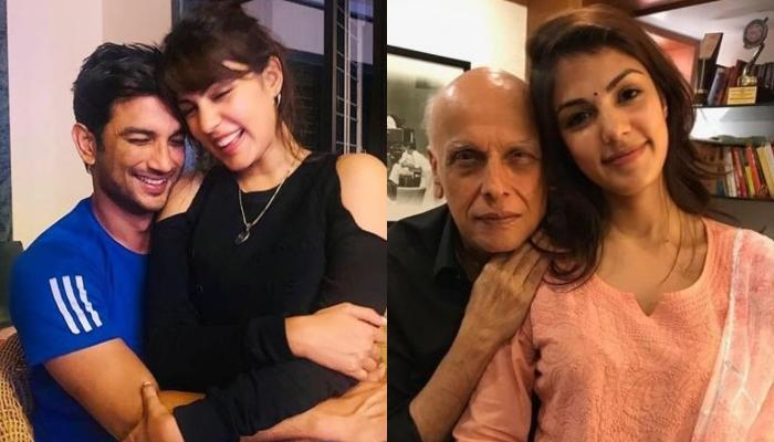 Mahesh Bhatt Claims He Never Asked Rhea Chakraborty To Stay Away From Her BF, Sushant Singh Rajput